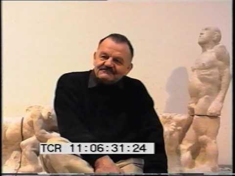 ALFRED HRDLICKA ÜBER SEINEN HAARMANN-ZYKLUS.  Ausschnitt aus EPK für TOTMACHER-Kinostart 1995