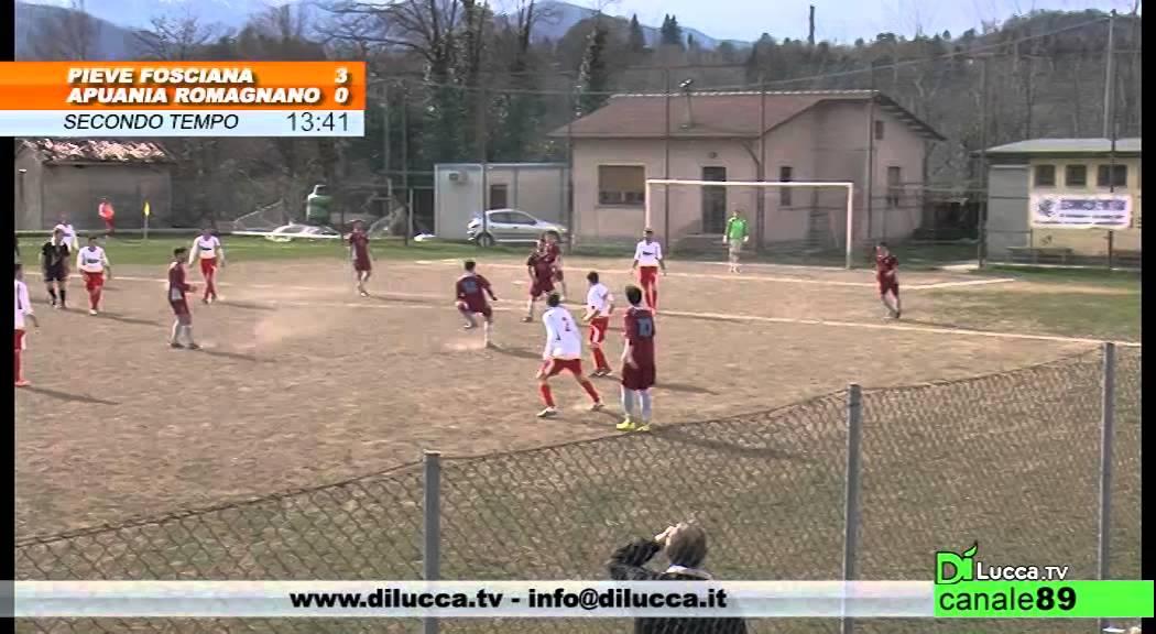 Campionato 2014 2015 Pieve Fosciana Vs Apuania Romagnano