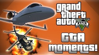 GTA 5 Online Funny Moments! - Air Tag, Ghost Wildcat, Kidnapping Vanoss, Welcome to Heaven and More!