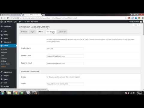 Support Ticket Helpdesk System in WordPress