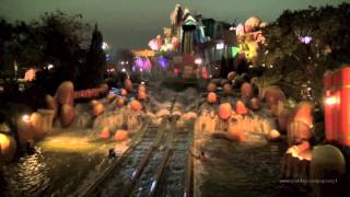 Islands of Adventure Complete Walkthrough at Night - Universal Orlando Resort Florida HD