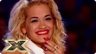 ACT SINGS RITA ORA'S OWN SONG IN FRONT OF HER! | The X Factor UK