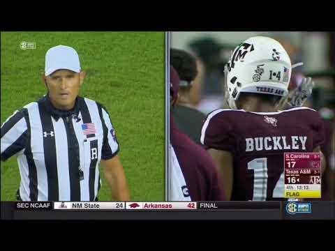 Texas A&M vs South Carolina 2017