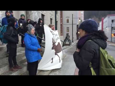 ANWR Drilling Protest