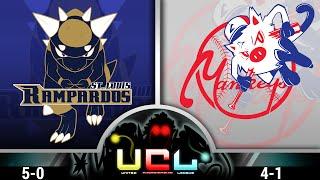 St. Louis Rampardos Vs NY Mankeys! | UCL Little Cup Week 6 | Pokemon ORAS WIFI Battle