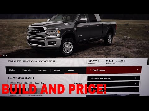 2019 Ram 2500 Build And Price Feature.