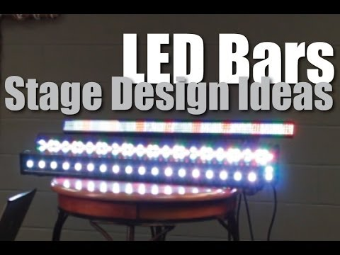 LED Stage Lighting : Strip Lights