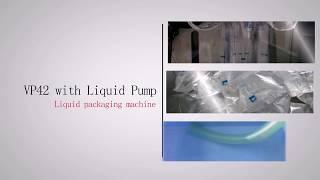 BAOPACK Servo Motor Pillow Bags Multi-function Liquid Spring Water Packing Machine CB-VP42
