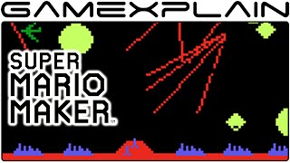 Missile Command in Super Mario Maker