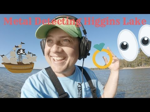 Metal Detecting Michigan - Treasure & Rings At Higgins Lake