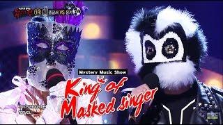 [King of masked singer] 복면가왕 - jingle jingle lark, Hello Mr. Monkey - All for you 20150503