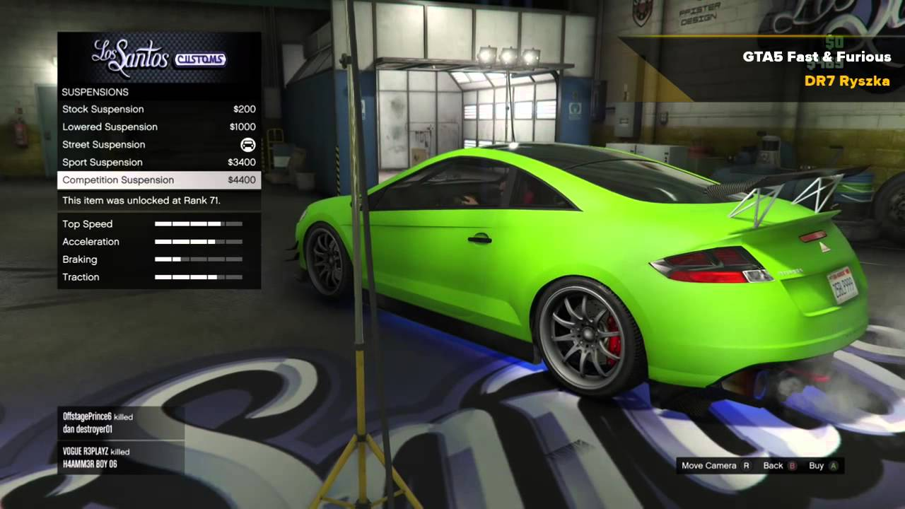2015 Mitsubishi Eclipse >> GTA 5 - Fast and Furious - Brian O'Conner's 2001 ...