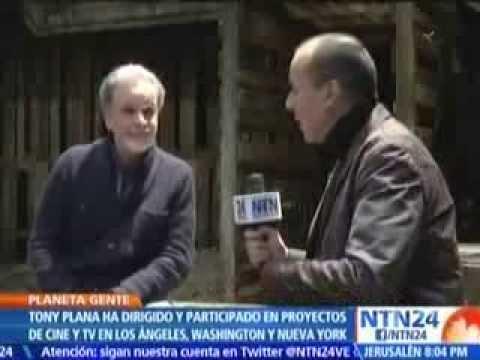 Tony Plana en NTN24 con Alfonso Diaz