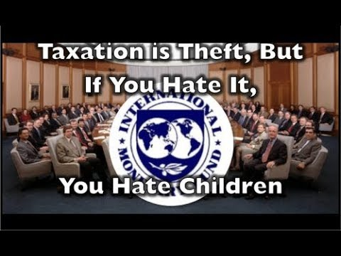 Taxation is Theft But if You Hate It You Hate Children