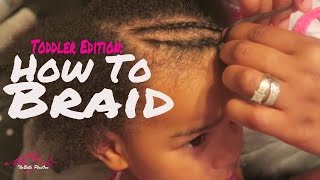 How To Braid Toddler Hair For Beginners | Mixed, Kinky, & Curly Textures | SoCozy Review