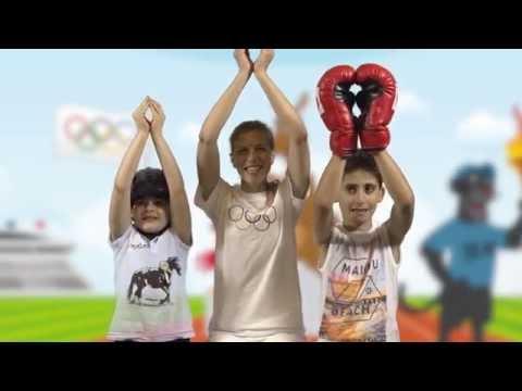 Les Jeux Olympiques avec Léa, Alexandre et Kristel