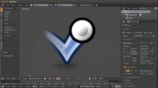 Blender Level Up уроки по анимации. Урок up03a (Анимация мяча или шарика в Блендер)