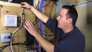 Organize Your Low Voltage Home Network Wiring