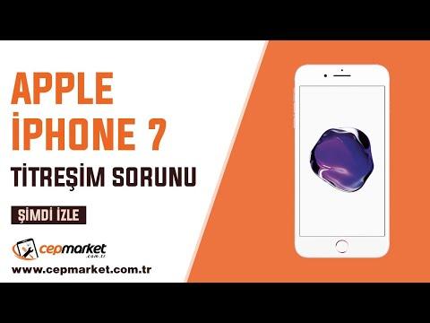 IPhone 7 Titreşim Sorunu, Titremeyen İphone Nasıl Çözülür ???
