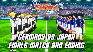 Captain Tsubasa Rise of New Champions - Germany vs Japan Finals Match, ENDING,  Credits (Hero)
