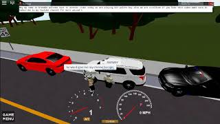 (Roblox's DOJ Rp) We robbed a bank a Got away with the money but are car is Gone..