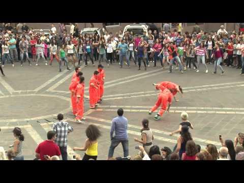U.S.-Armenia FLASH MOB (Official Video)