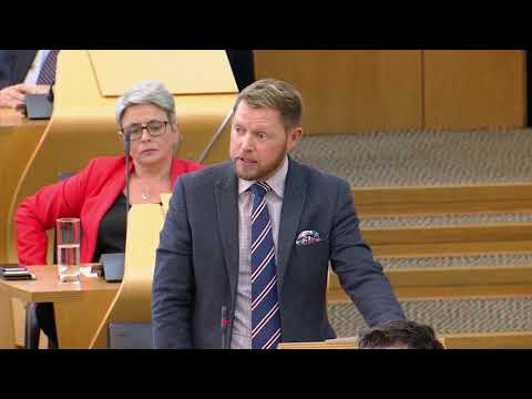 Jamie Greene blasts Nicola Sturgeon in FMQs over failure to deliver SNP flagship policy
