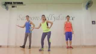 ZUMBA DANCE workout for beginners step by step with music ZUMBA DANCE new ★ PART 1