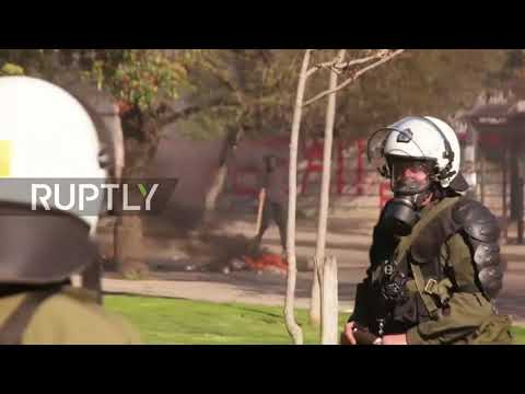 Greece: Anarchists from across Balkans clash with police in Thessaloniki
