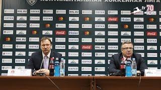 Пресс-конференция после матча 'Салават Юлаев' - 'Торпедо' (12.01.2017)