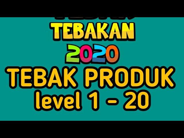 Jawaban Tebak Produk 2020 Level 1 20 Youtube