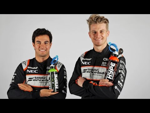 Sahara Force India 2016: Behind the scenes with Hype Energy