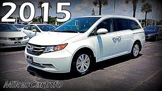 2015 Honda Odyssey Van EX-L