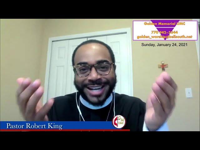01-24-2021 - God's Good Gift (Bueno Regalo De Dios!) by Pastor Robert S. King