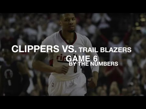 Portland Trail Blazers vs. Los Angeles Clippers: Game 6 by the numbers