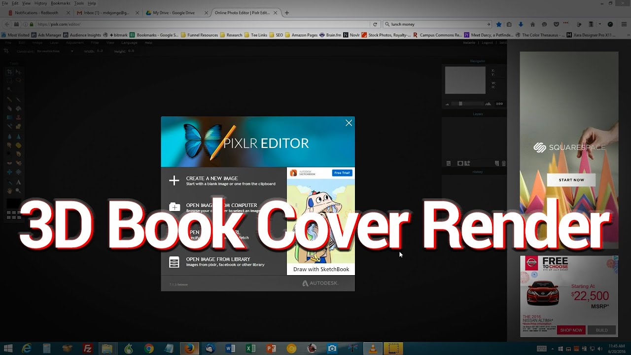 How to Make a 3D Paperback Book Cover Render Using Only Free ...