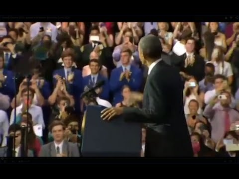 President Obama 2015 speaks at Brisbane University During G20