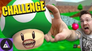 SUPER MARIO 64 - CAN WE SURVIVE THE GREEN DEMON CHALLENGE? | Mario 64 Gameplay