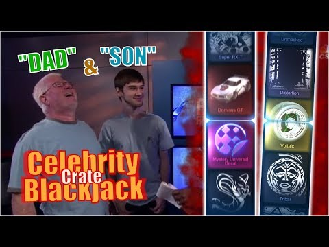 """Celebrity Crate Blackjack 
