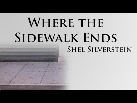 Wordplay - Poetry - Where The Sidewalk Ends By Shel Silverstein