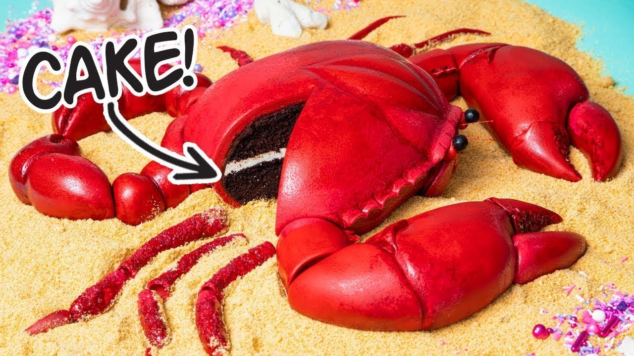 This Giant Crab Is A CAKE! | How To Cake It with Yolanda Gampp