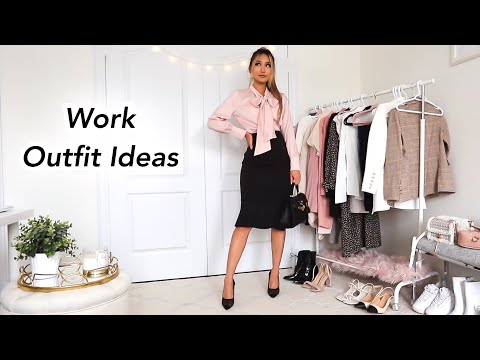 Work Outfit Ideas | What to wear to the office