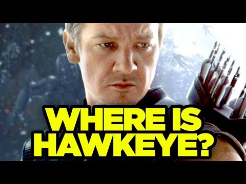 Infinity War - WHERE IS HAWKEYE?