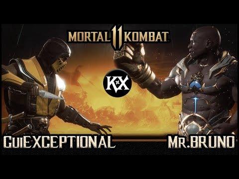 MORTAL KOMBAT 11 - Gameplay entre GuiExceptional e Mr. Bruno thumbnail