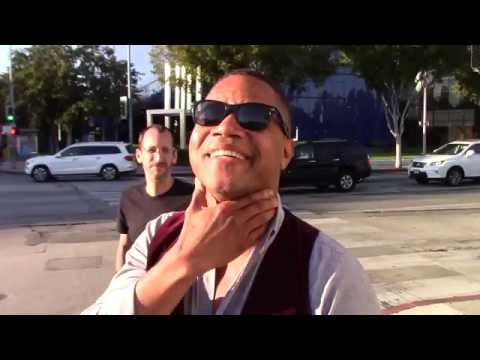 Cuba Gooding Jr. keeps it interesting while out in West Hollywood, Ca