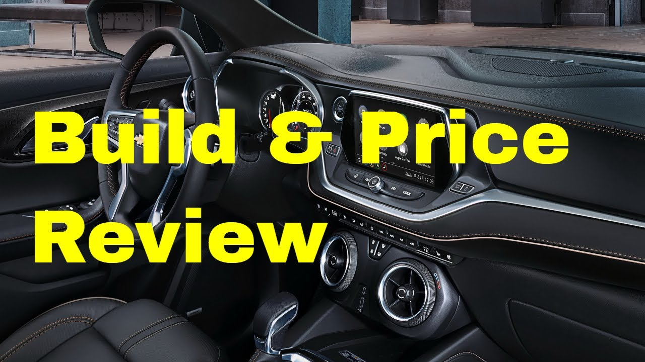2019 Chevrolet Blazer Premier Awd Suv Build Price Review Trims