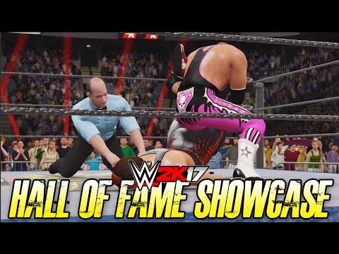 WWE 2K17 Hall of Fame Showcase - STING vs BRET HART!! (WWE 2K17 2K Showcase DLC)