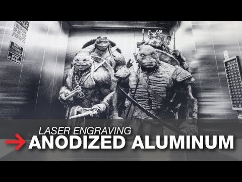 Laser Engraving Anodized Aluminum | Photo Engraving On Metal | Trotec
