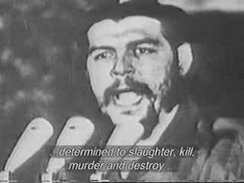 Che Guevara, Imperialism speech 1965, translated