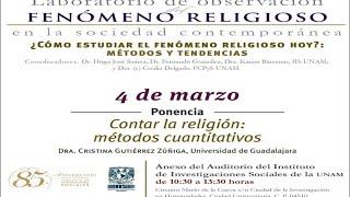 Contar la religión: métodos cuantitativos